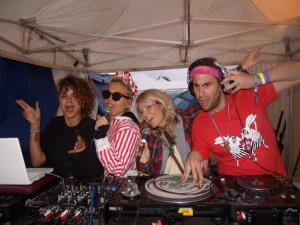 Clayton Wright and the presenters and DJ's of my Secret FM radio show
