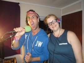 Clayton Wright and Jayde Adams on Bestival Radio