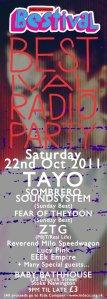 Bestival Radio Poster