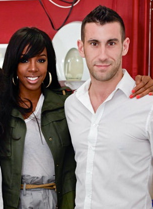 Clayton Wright and Kelly Rowland
