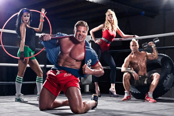 The Fat Fighters on Channel 4