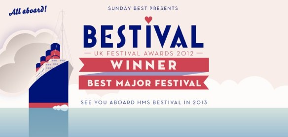 Bestival wins Best Major Music Festival at The Festival Award