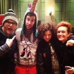 Hugh Stevens, Clayton Wright, Annie Mac and Amy Bee Sting